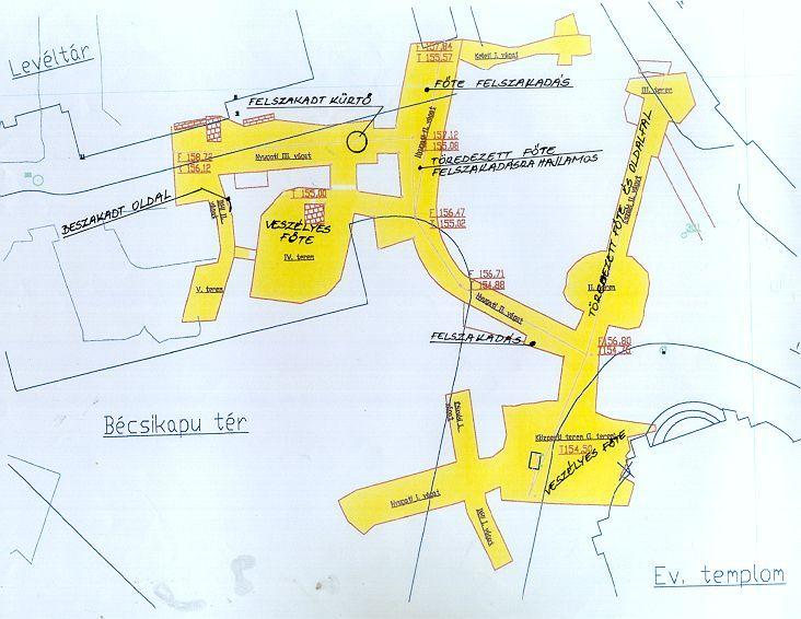 Várbarlang- Bécsi kapu tér térképe